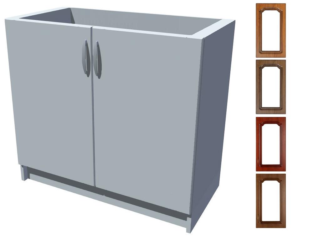 Rustikální dřezová kuchyňská skříňka Bolero 90 2D dřez