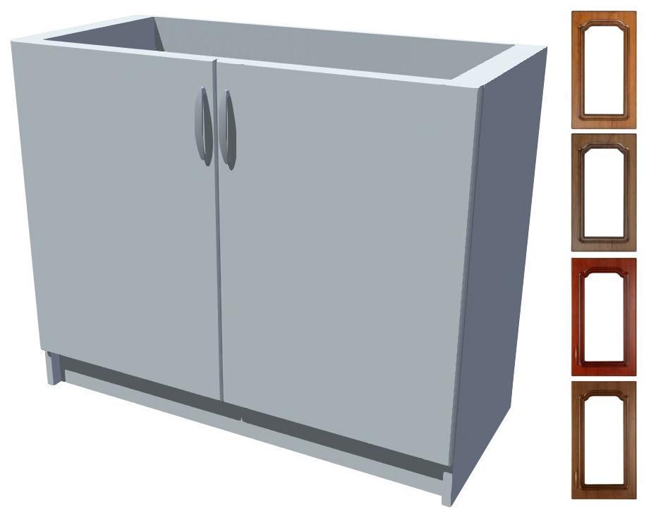 Rustikální dřezová kuchyňská skříňka Bolero 100 2D dřez