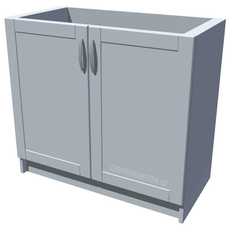 Dřezová kuchyňská skříňka Diana 80 2D