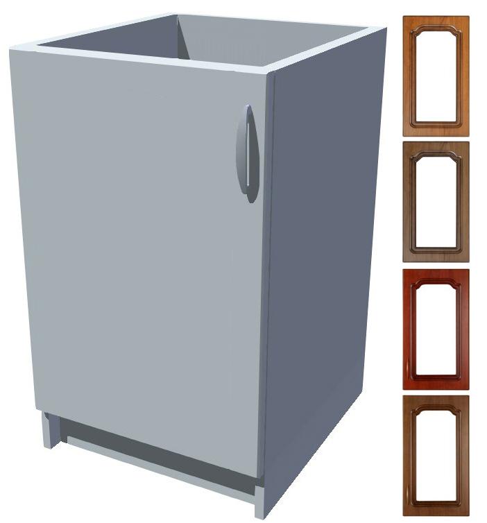 Rustikální dřezová kuchyňská skříňka Bolero 50 1D dřez