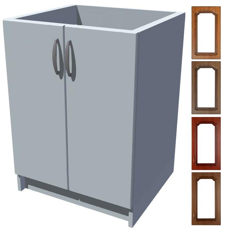 Rustikální dřezová kuchyňská skříňka Bolero 60 2D dřez