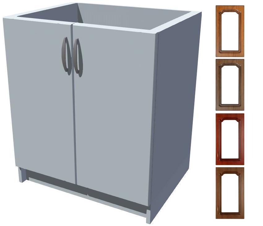 Rustikální dřezová kuchyňská skříňka Bolero 70 2D dřez