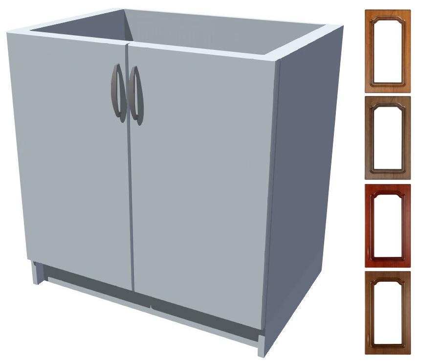 Rustikální dřezová kuchyňská skříňka Bolero 80 2D dřez