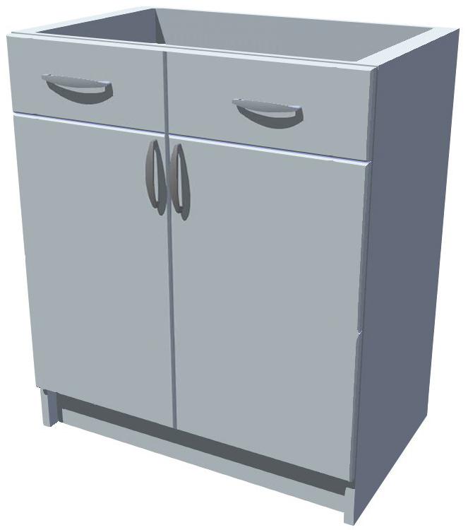 Spodní skříňka 2D se šuplíky Diana 60 cm