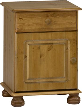 Noční stolek ze dřeva Richmond 210 - přírodní lak