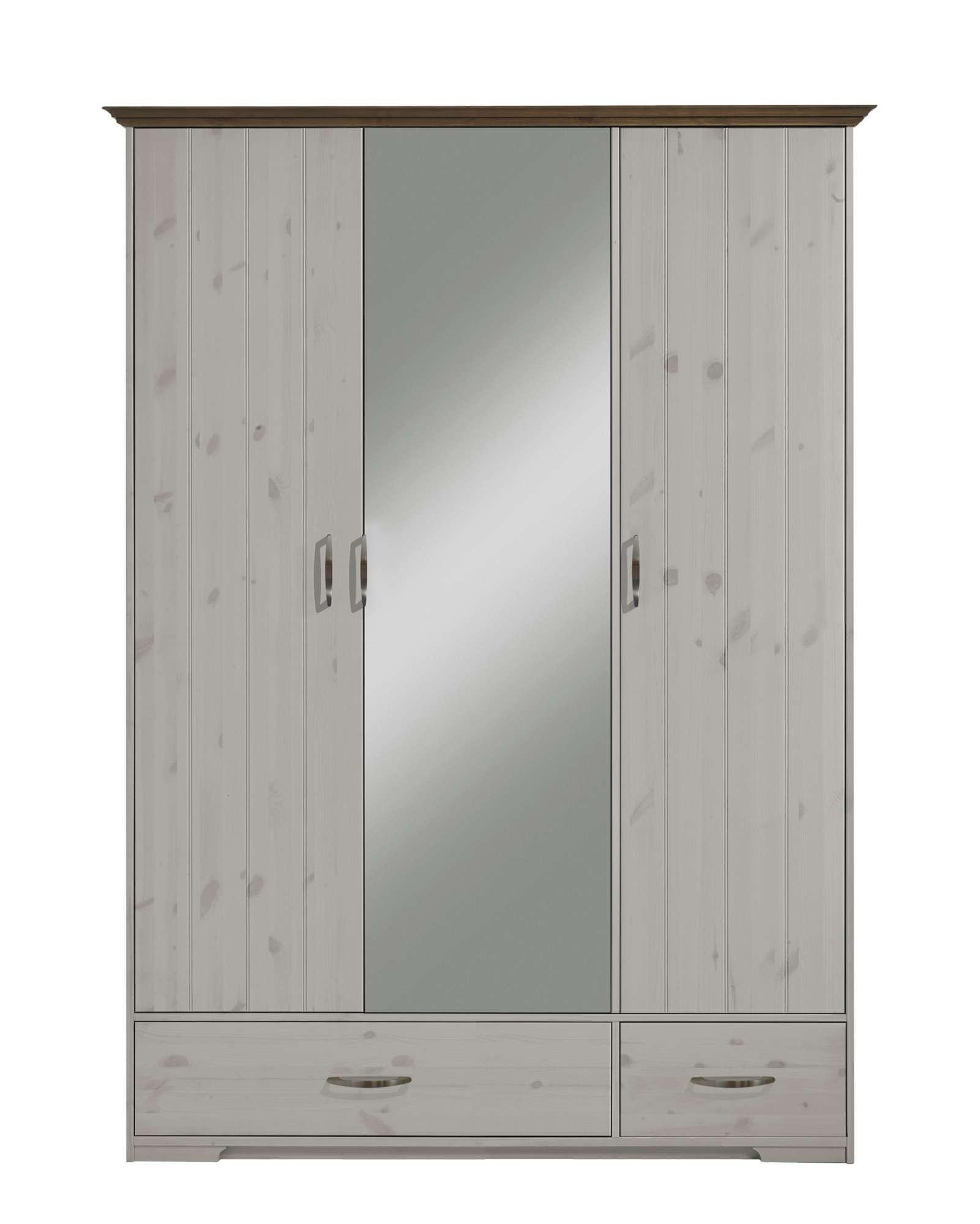 Šatní skříň se zrcadlem Hanstholm