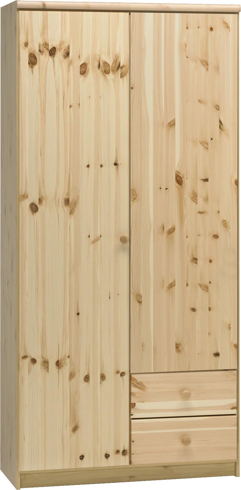 Šatní skříň z borovice Axel