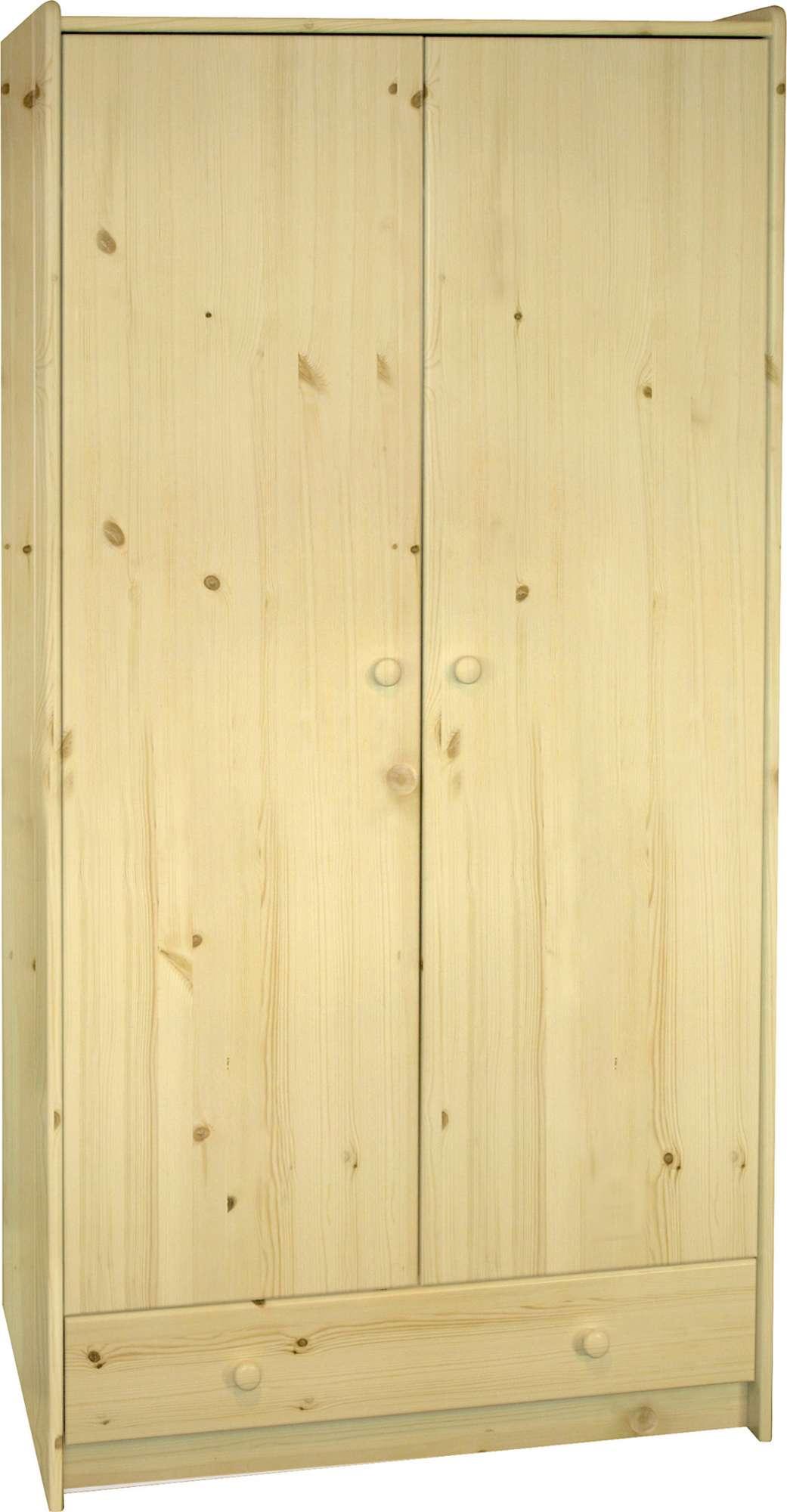 Šatní skříň z borovice Steens for Kids 100
