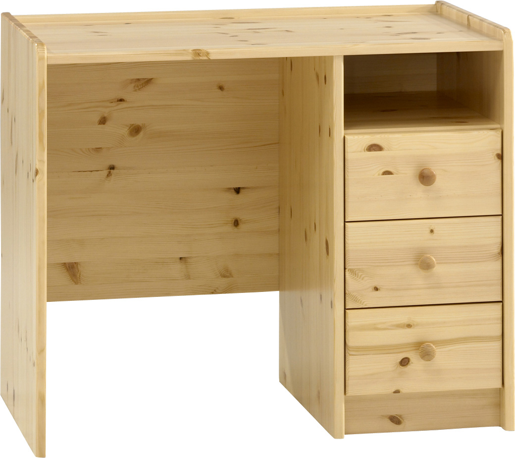 Psací stůl z borovice Steens for Kids 077