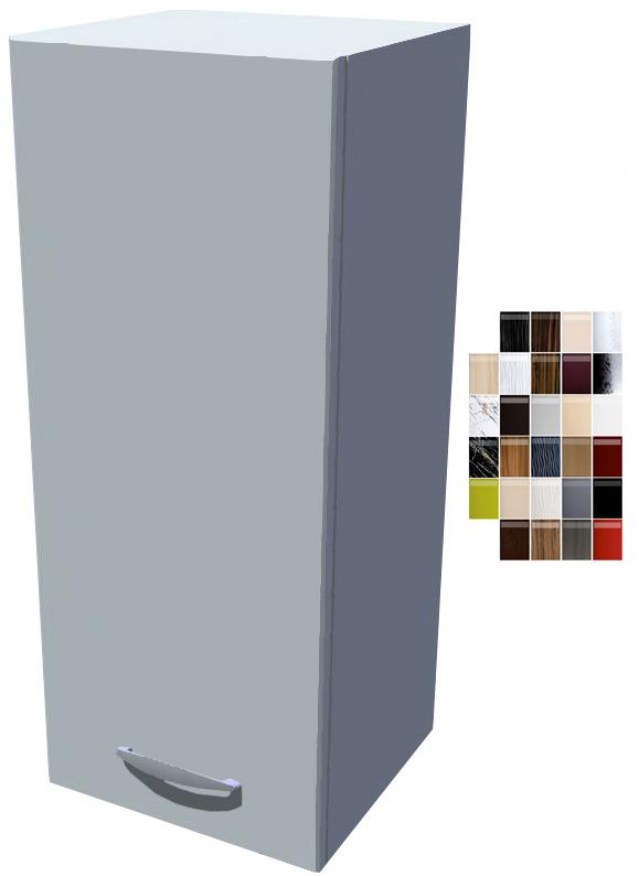 Lesklá horní skříňka Carmen 30 cm