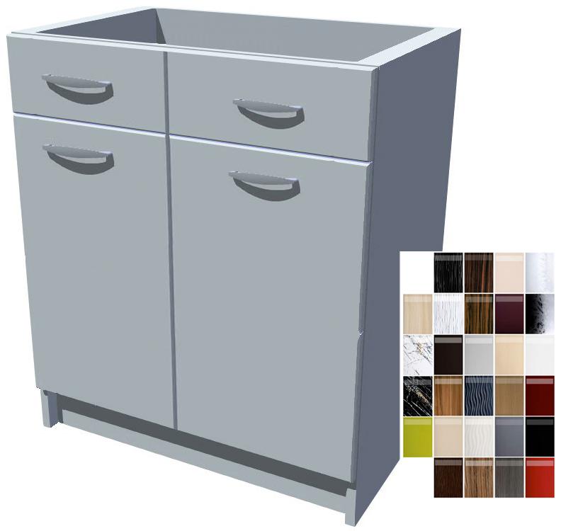 Kuchyňská skříňka Carmen se šuplíky 2D 70 cm
