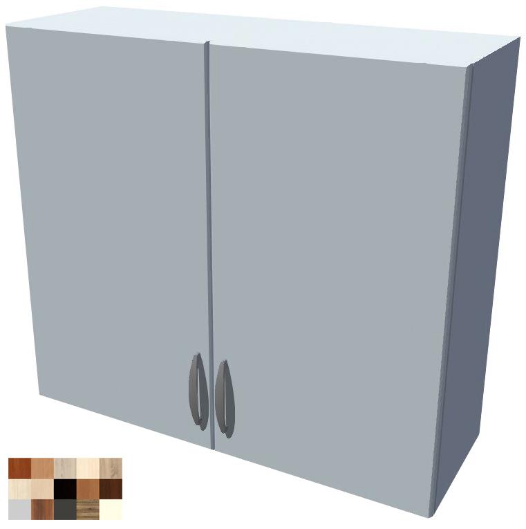 Horní 2D skříňka Tina se sušákem na talíře 80 cm