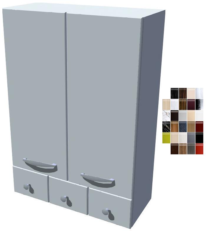 Horní stojací skříňka Carmen se šuplíky 60 cm - výška 121 cm