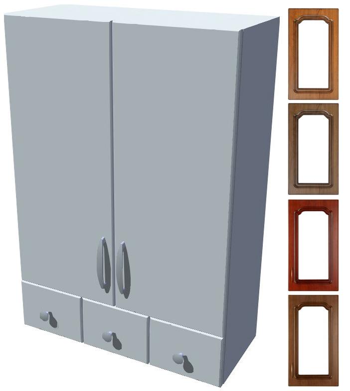 Horní stojací skříňka Bolero se šuplíky 60 cm - výška 121 cm