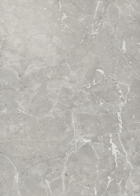 Zadní obkladová deska do kuchyně F074 ST9 Mramor Valmasino světle šedý