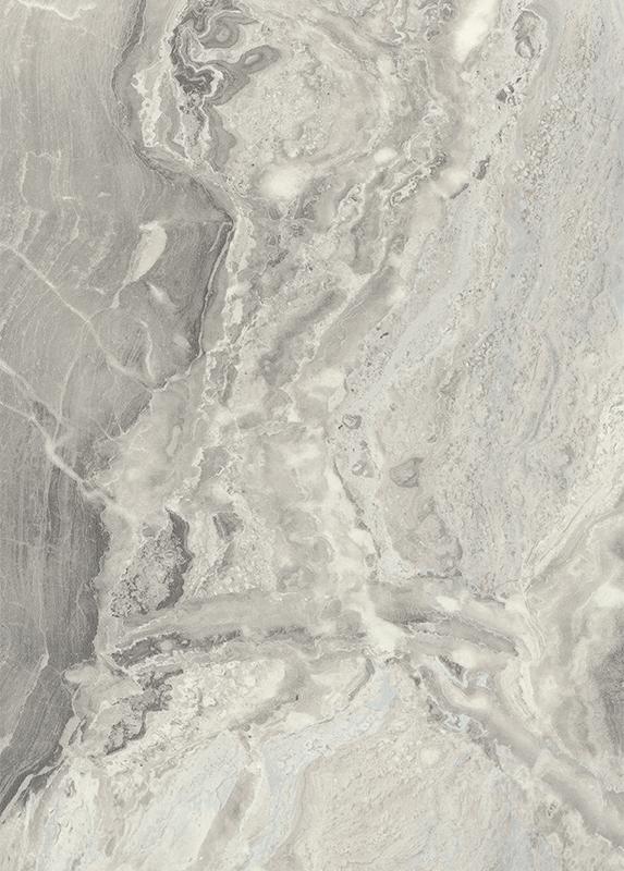 Zadní obkladová deska do kuchyně F092 ST15 Mramor Cipollino bílošedý