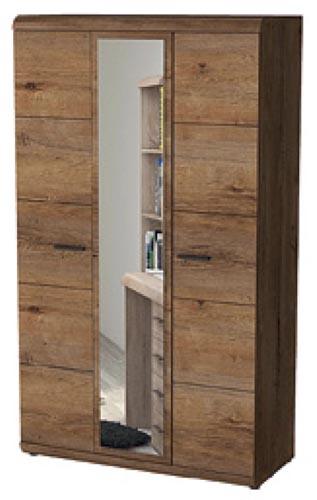 Šatní skříň Elena se zrcadlem 120 cm