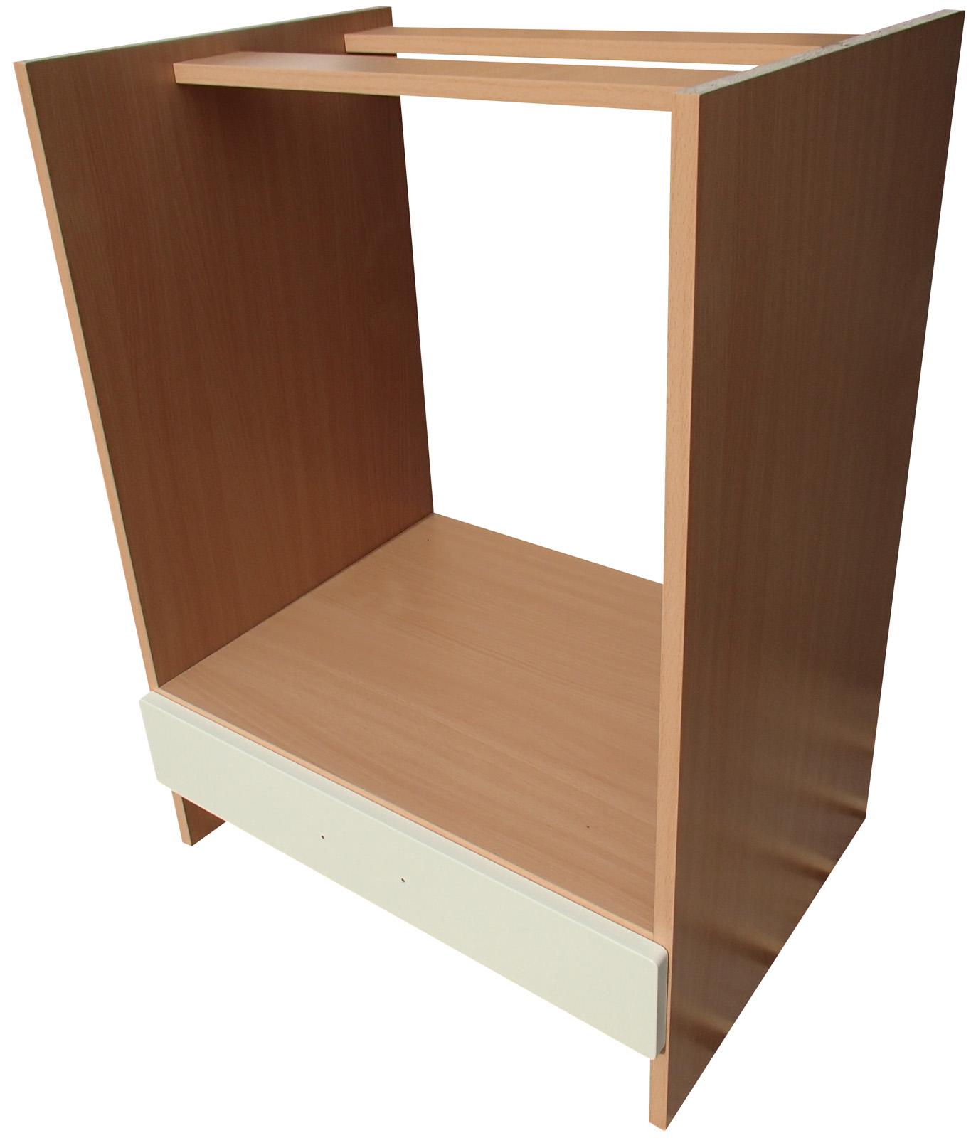 Dolní skříňka 60 cm na vestavěnou troubu - vanilka/ buk VÝPRODEJ