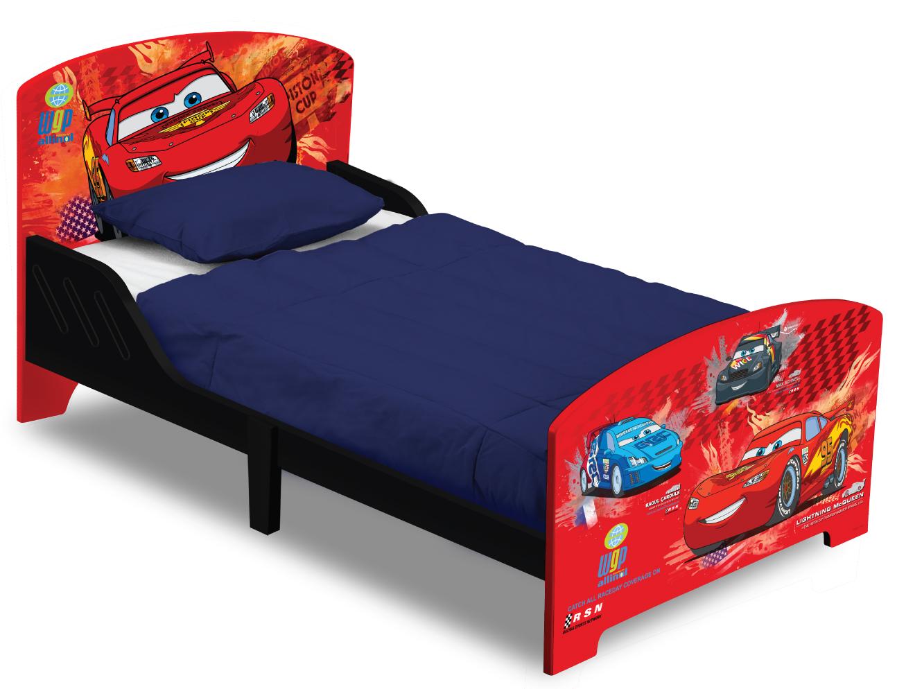Dětská postel se zábranou Cars - Auta