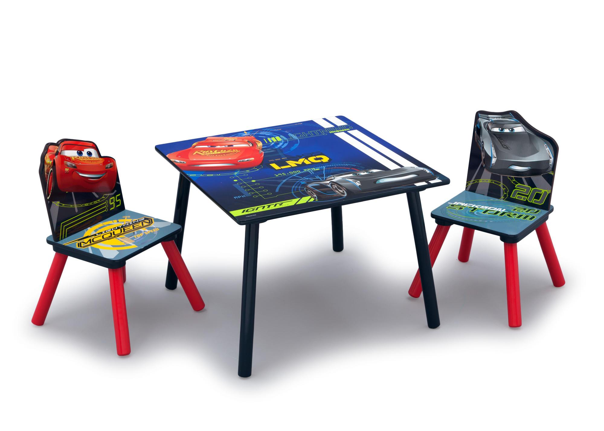 Dětský stůl s židlemi Cars - Auta