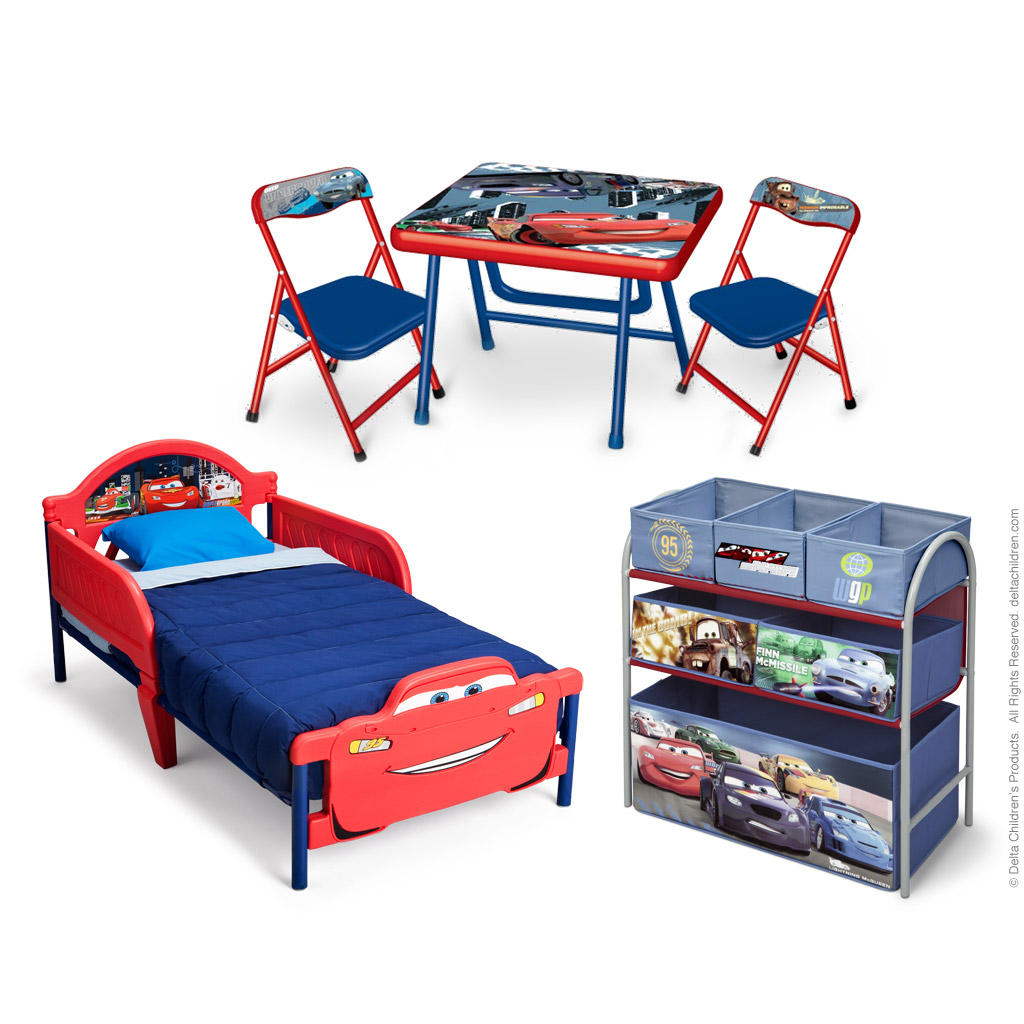 Dětský třídílný komplet Auta-Cars