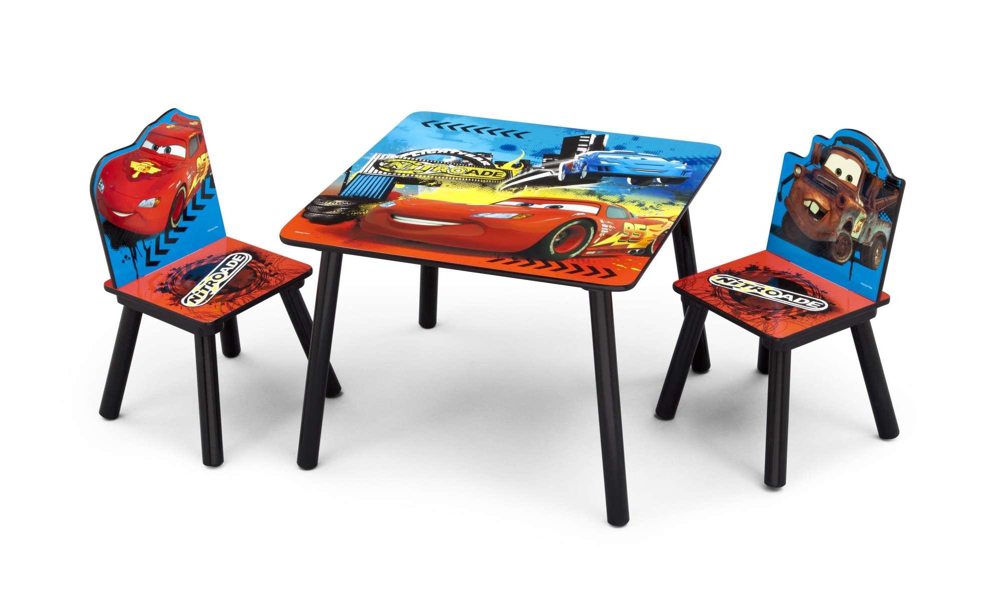 Dětský stůl s židlemi Auta-Cars II