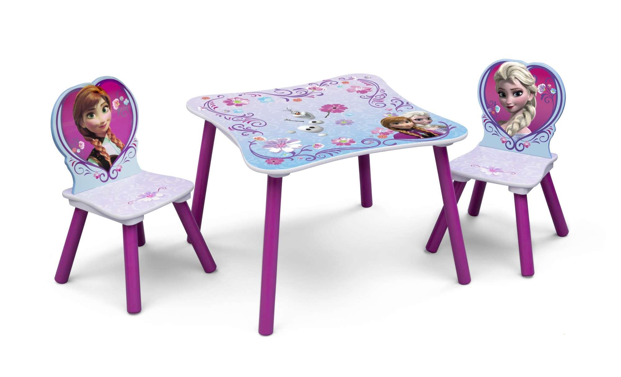 Dětský stůl s židlemi Ledové království - Frozen