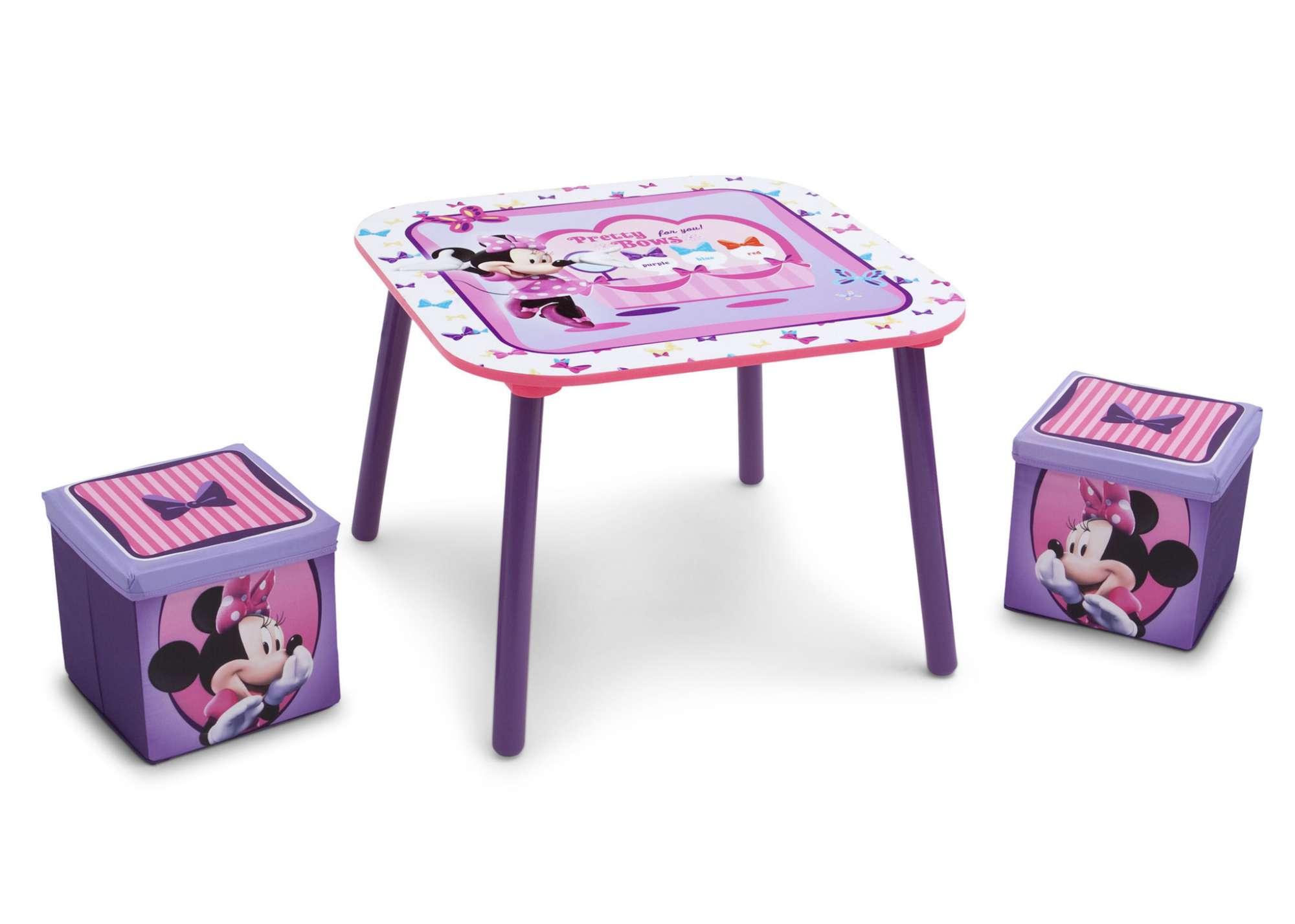 Dětský stůl + 2 taburety Minnie Mouse