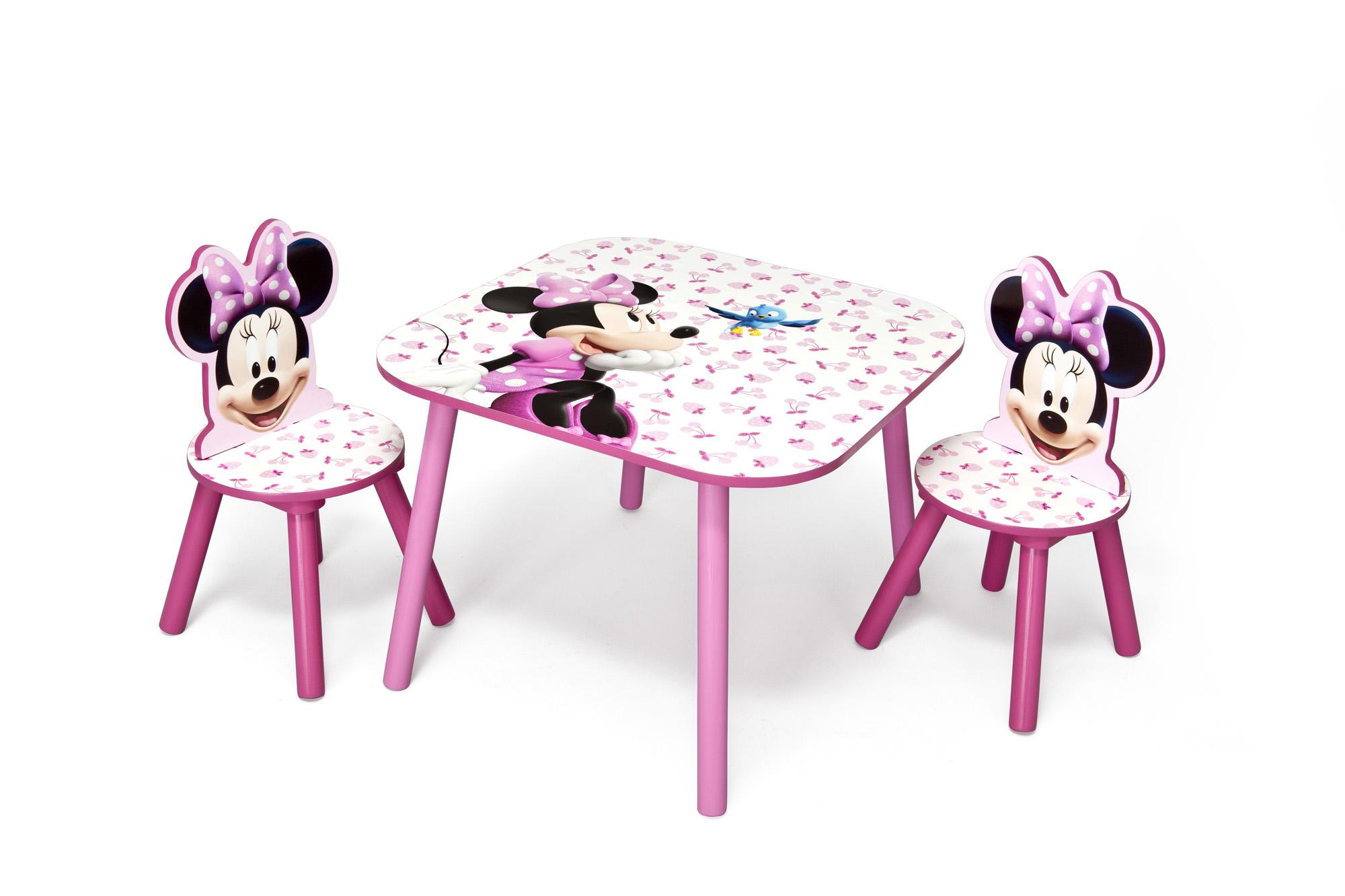 Dětský stůl s židlemi Minnie Mouse 2
