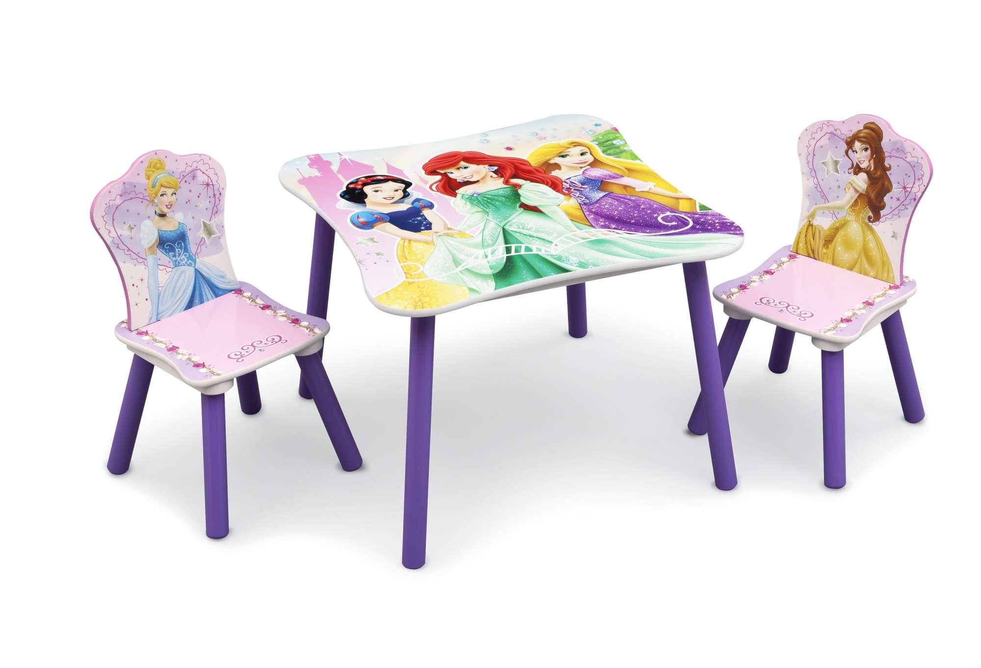 Dětský stůl s židlemi Princezny - Princess