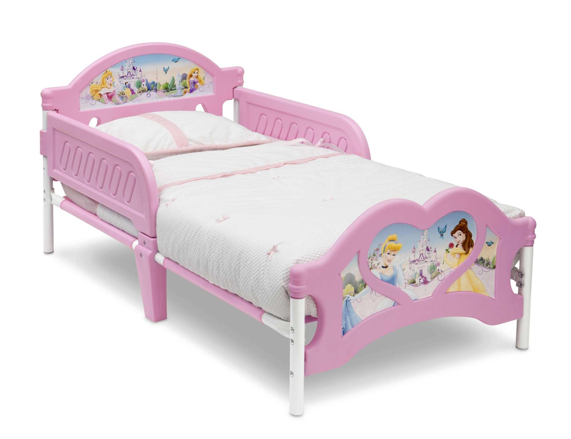 Dětská postel se zábranou Princezny - Princess