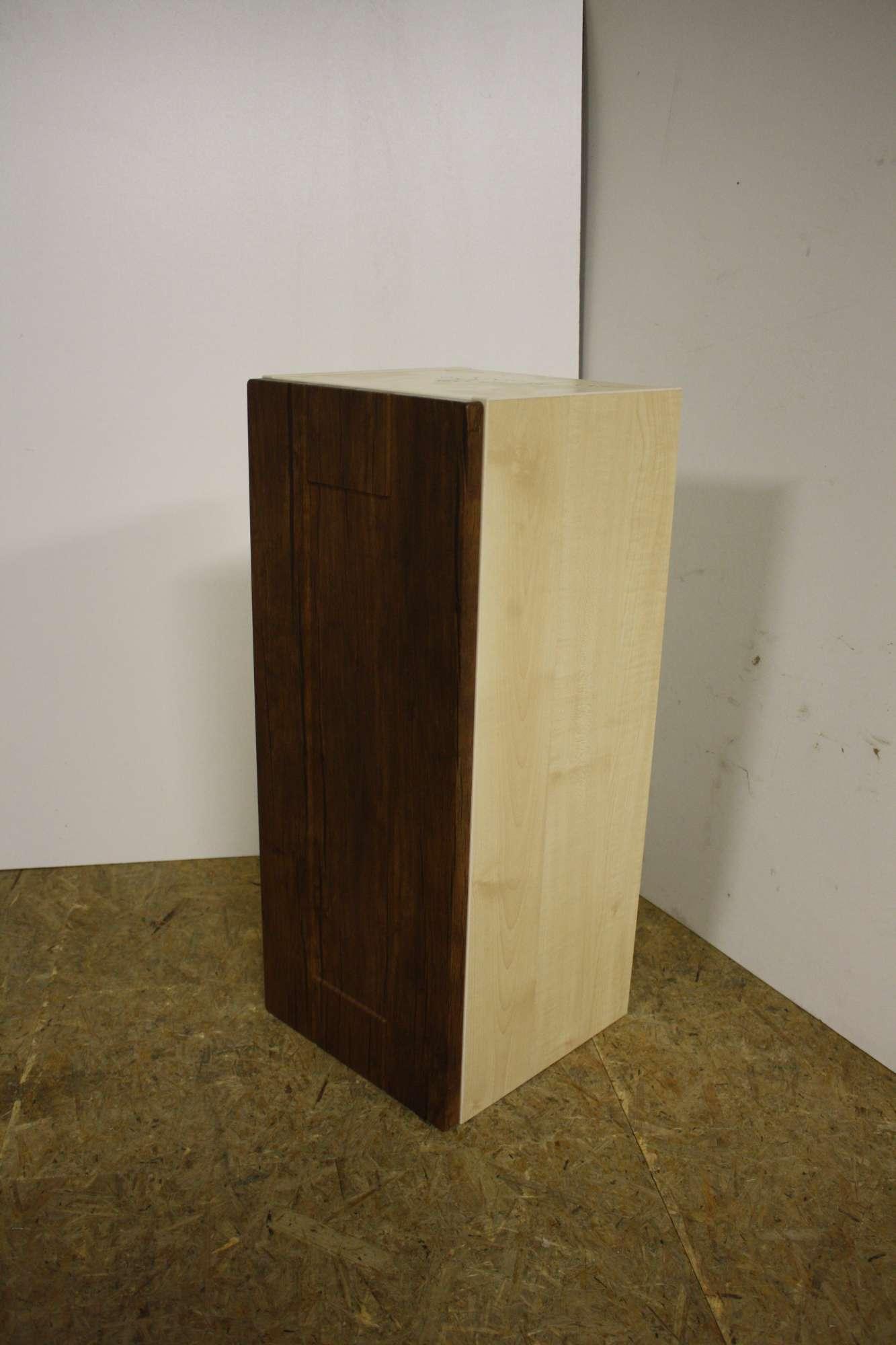 Horní skříňka 30x71x30, kaštan/bříza - výprodej.