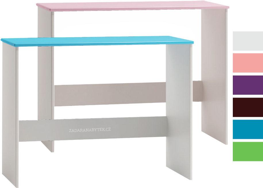 Bílý psací stůl Kiks ST10