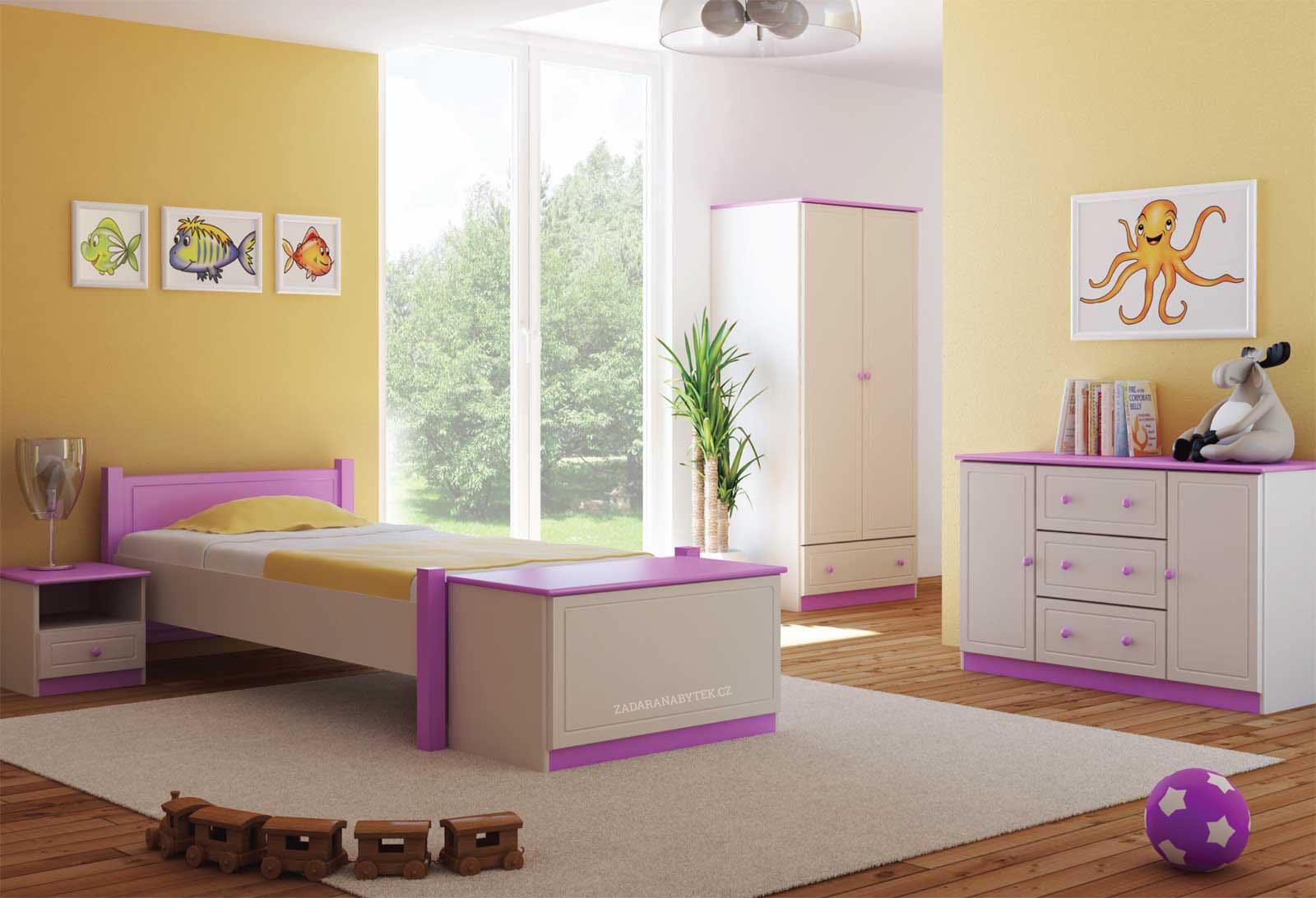 Dětský pokoj Kiks1