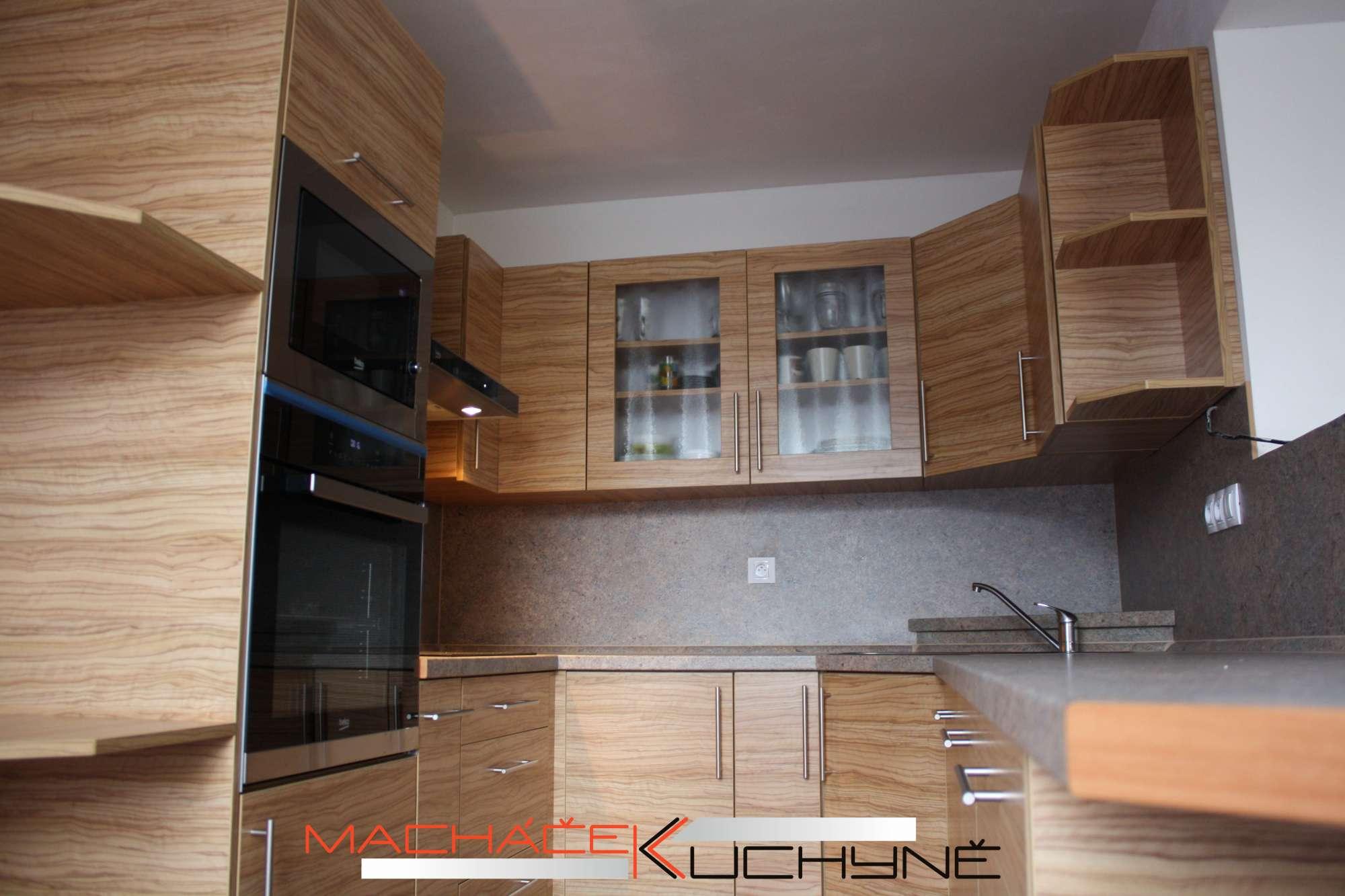 Moderní Kuchyně Do U Barva Oliva Sevilla Zadara Nábytekcz