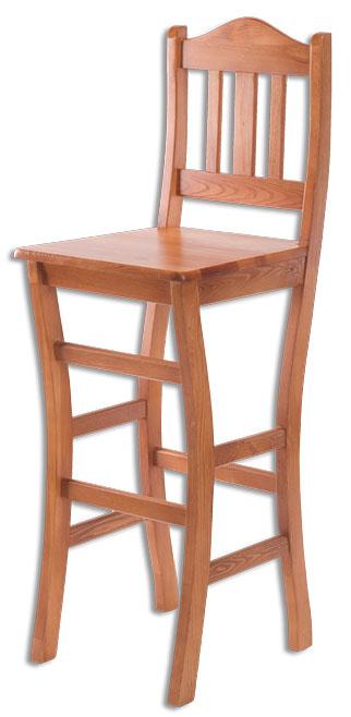 Barová židle KT111 masiv borovice