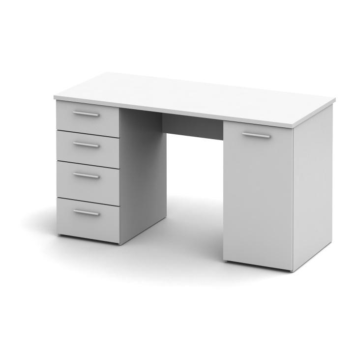 PC stolek, bílá Eustach