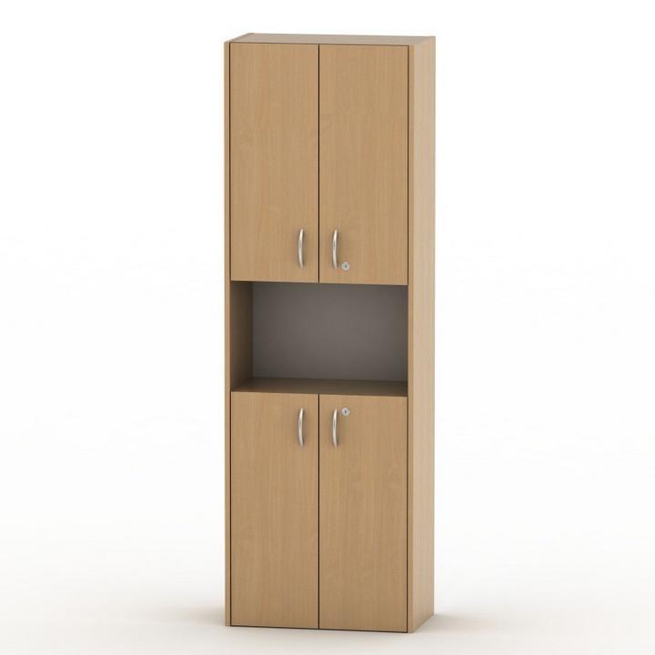 Kancelářská skříňka, buk, TEMPO AS NEW 003