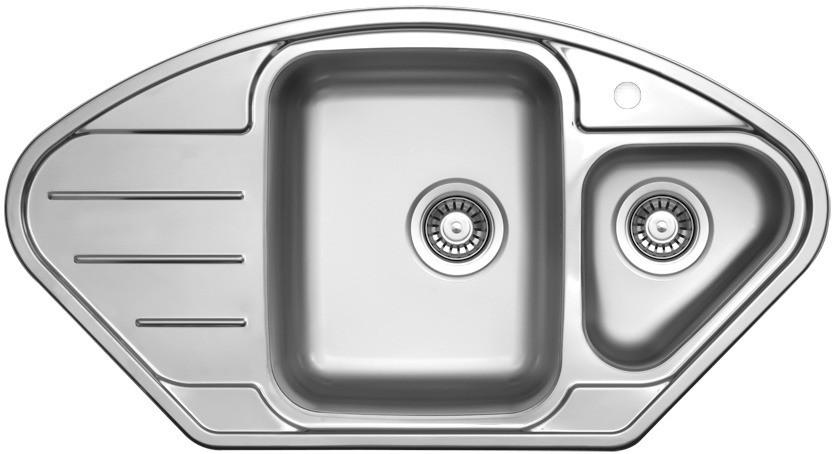 Sinks LOTUS 945.1 V 0,8mm leštěný