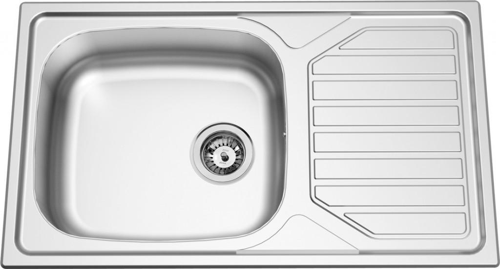 Sinks OKIO 860 XXL V 0,6mm leštěný