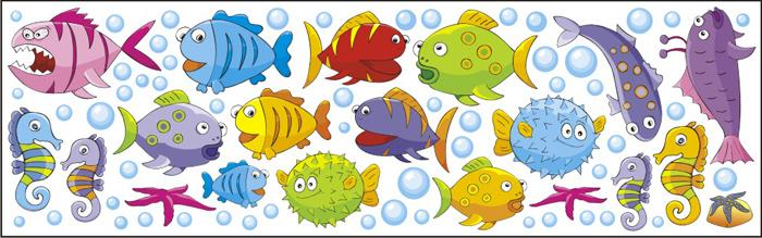 Samolepky na zeď Ryby