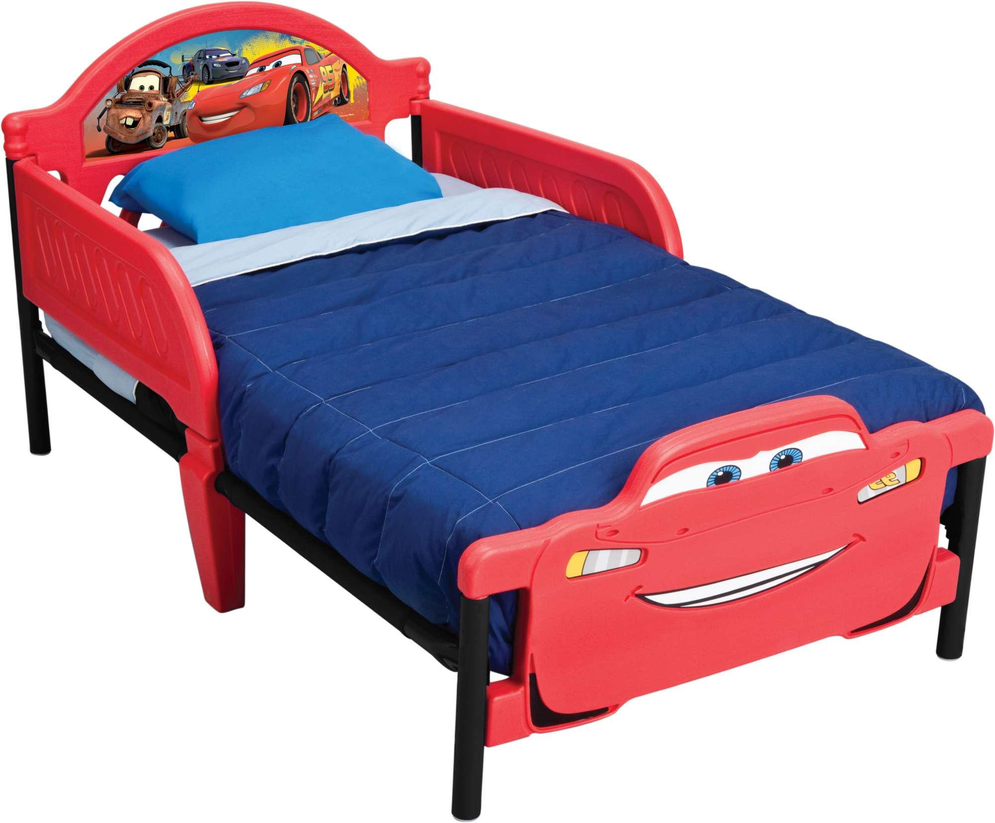 Dětská postel Auta-Cars 2