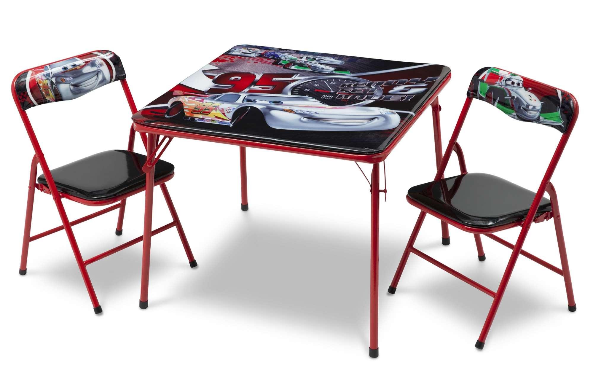Dětský stůl s židlemi Auta-Cars IV