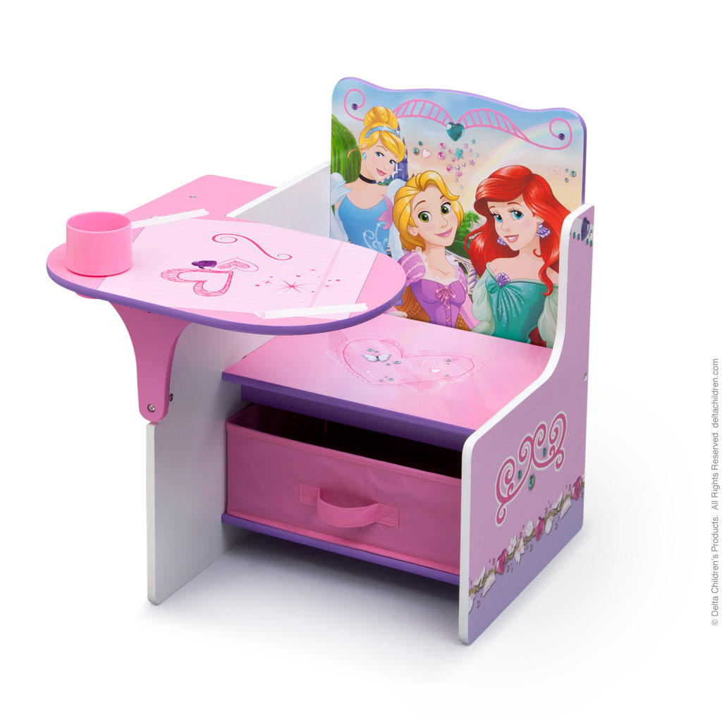 Dětská židle se stolečkem Princezny-Princess