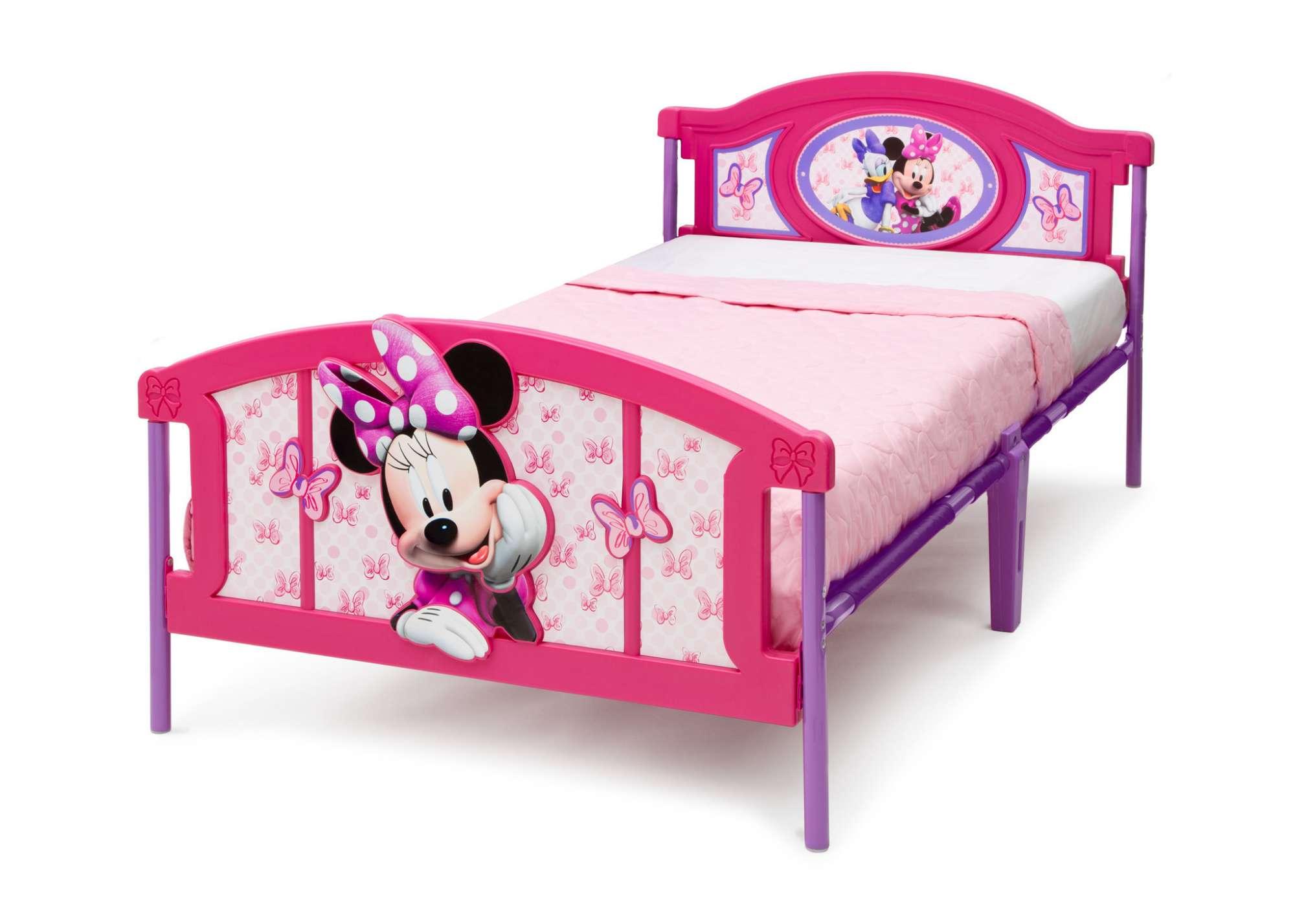 Plastová 3D postel Minnie Mouse