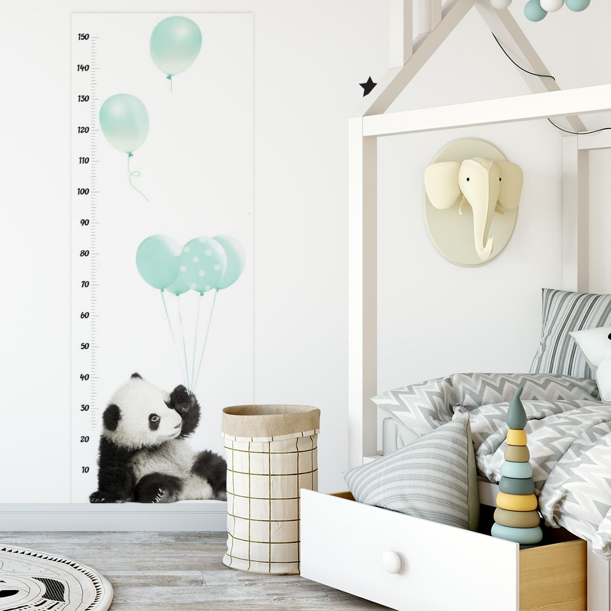 Měřítko vzrůstu DEKORNIK - Panda mátová