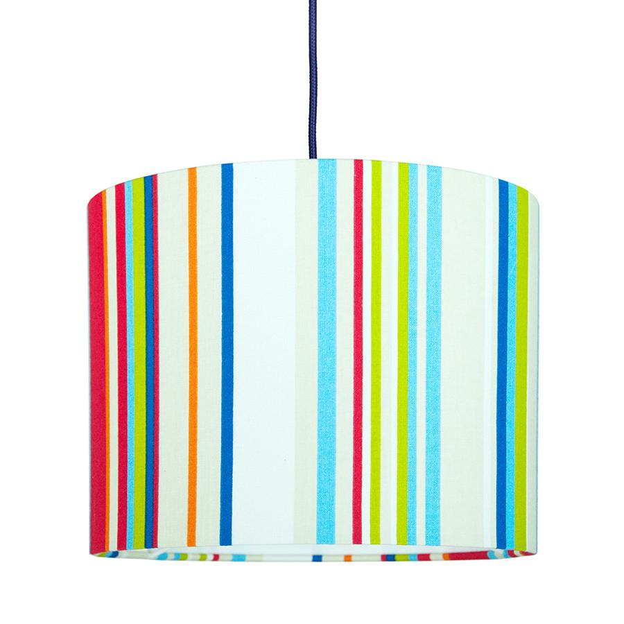 Textilní závěsná lampa Stripes Mini
