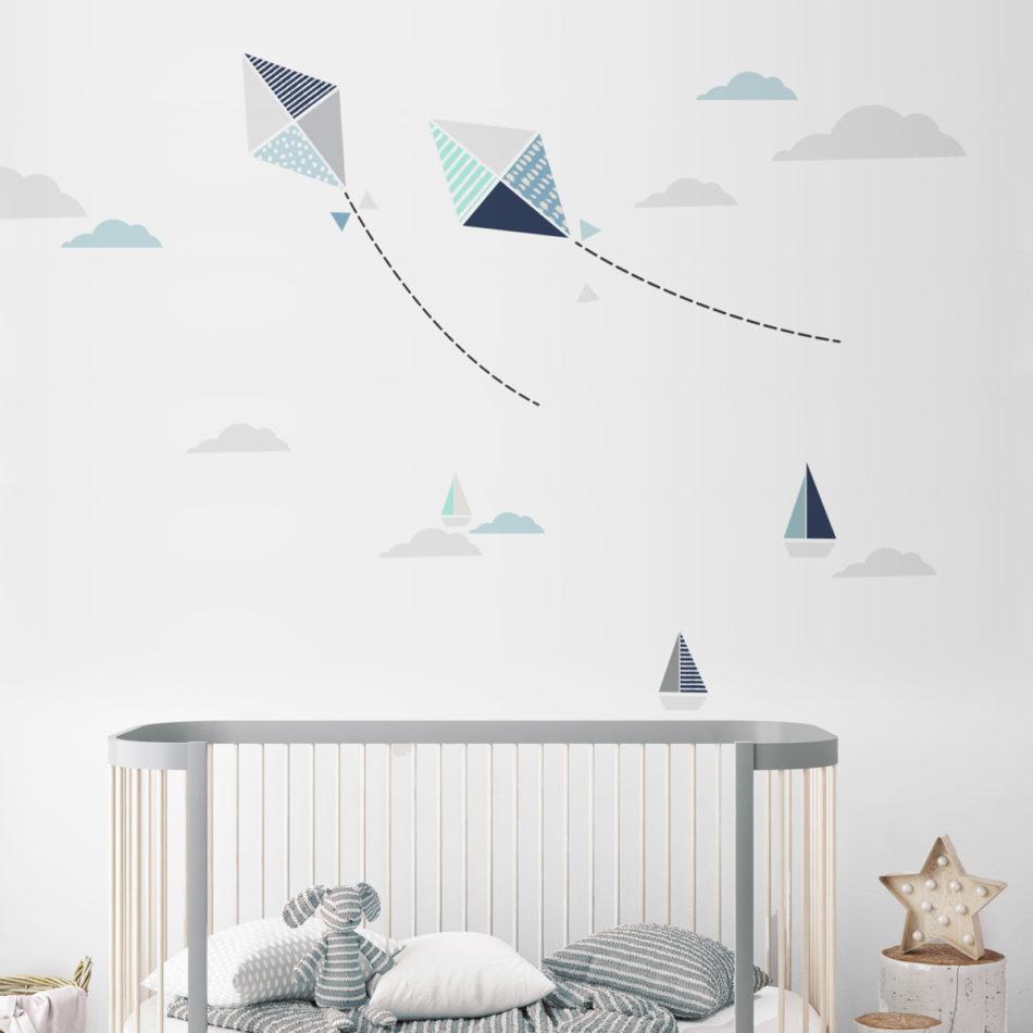 Dekorace na zeď DEKORNIK - Létající draci