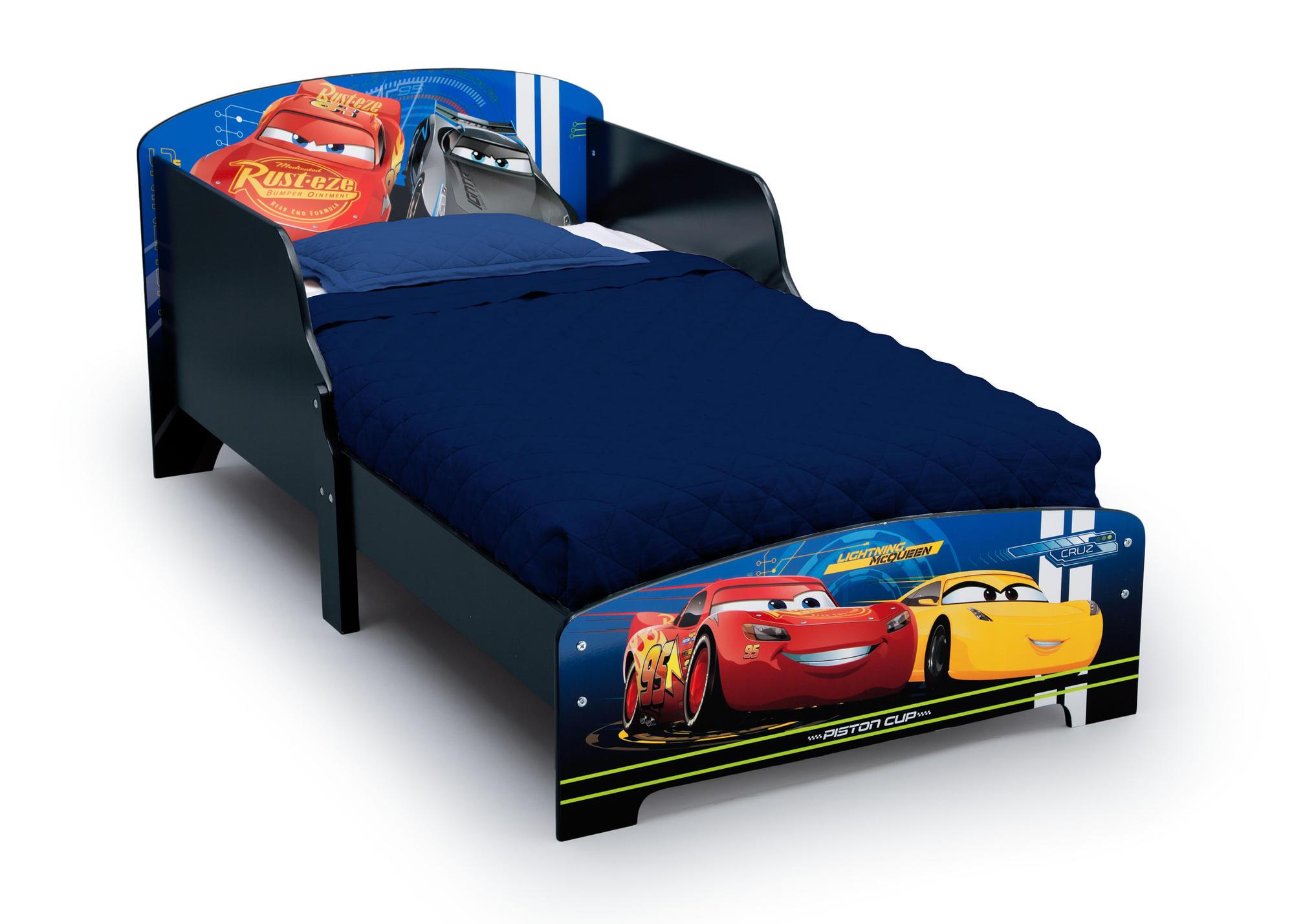 Dětská dřevěná postel Auta-Cars 2